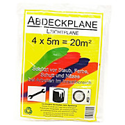 Abdeckplane 20m² - Transparent, KONVENTIONELL, Kunststoff (30/22/0.5cm)