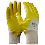 Arbeitshandschuhe Gr. 10 - Gelb, KONVENTIONELL, Textil (20cm) - GEBOL