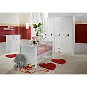 Babyzimmer Jette - Weiß, MODERN, Holzwerkstoff