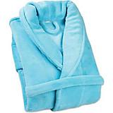 Bademantel Sina - Hellblau, KONVENTIONELL, Textil - OMBRA