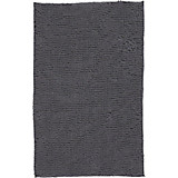 Badematte Anke - Grau, MODERN, Textil (60/90cm) - LUCA BESSONI
