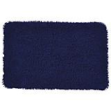 Badematte Lilly - Blau, KONVENTIONELL, Textil (60/90cm) - OMBRA