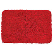 Badematte Lilly - Rot, KONVENTIONELL, Textil (60/90cm) - OMBRA