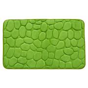 Badematte Rihanna - Grün, MODERN, Textil (50/80cm) - LUCA BESSONI
