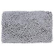 Badematte Rosella - Hellgrau, MODERN, Textil (50/80cm) - LUCA BESSONI