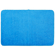 Badematte Sabina - Blau, MODERN, Textil (60/90cm) - LUCA BESSONI