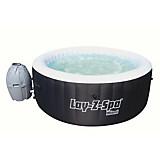 Bestway Whirlpool Lay-z-spa Miami - Schwarz/Weiß, KONVENTIONELL, Kunststoff (180/66cm) - BESTWAY