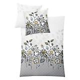 Bettwäsche Aruba - Platinfarben, KONVENTIONELL, Textil (140/200cm) - KLEINE WOLKE