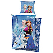 Bettwäsche Frozen - Blau, LIFESTYLE, Textil - DISNEY