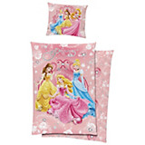 Bettwäsche Princess - Rosa, LIFESTYLE, Textil - DISNEY