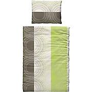 Bettwäsche Rena - Grün, MODERN, Textil - LUCA BESSONI
