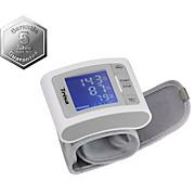 Blutdruckmessgerät Simple Wr - Weiß/Grau, MODERN, Kunststoff/Textil (8/6.5/7cm)