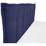 Boxspringbett Fabio Blau 180x200 - Blau, MODERN, Textil (191/125/208cm)