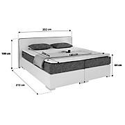Bett 120x200 mit schubladen  Betten günstig online kaufen | Möbelix