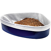 Brotkorb 2560 02 - Blau/Weiß, KONVENTIONELL, Kunststoff/Textil (25/20cm) - PLAST 1