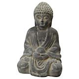 Buddha Teri - Grau, KONVENTIONELL, Keramik (16/15,5/27cm)