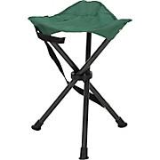 Campinghocker Nelly - Dunkelgrün/Dunkelgrau, KONVENTIONELL, Textil/Metall (33/42/33cm)
