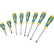 CSAVARHÚZÓ KLEMENS - sárga/kék, konvencionális, műanyag/fém