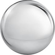 Dekokugel Metall 13 cm - Silberfarben, MODERN, Metall (13cm) - MÖMAX modern living