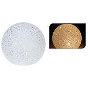 Dekokugel mit Led - Weiß, MODERN, Kunststoff (11,5cm)
