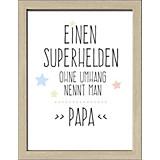 Dekopaneel Papa - MODERN, Holzwerkstoff (29/39/1,1cm)