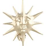 Dekospange Sonne, 2 Stück - Goldfarben, KONVENTIONELL, Metall - HOMEWARE