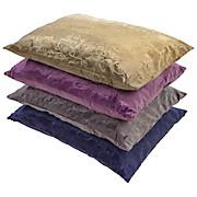 Díszpárna Venezia - homok színű/lila, konvencionális, textil (40/60cm) - OMBRA