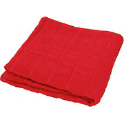 Duschtuch Lilly - Rot, KONVENTIONELL, Textil (70/140cm)
