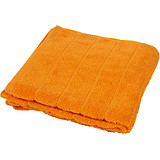 Duschtuch Lilly - Terra cotta, KONVENTIONELL, Textil (70/140cm)