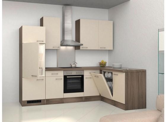 Eckküche Eico 280x270 cm Magnolie online kaufen Möbelix