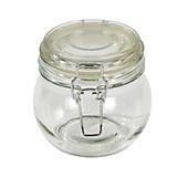 Einmachglas Ilonka, 450 ml - Klar, KONVENTIONELL, Glas/Metall (11/10,5cm) - LUCA BESSONI