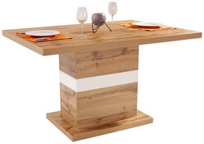 Amazing Esstisch Kashmir Hellgrauwei Modern Holz With Weier Esstisch Holz  With Weier Holz