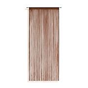 Fadenstore Marietta - Braun, KONVENTIONELL, Textil (90/245cm) - OMBRA