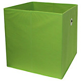 Faltbox Cubi - Grün, MODERN, Holzwerkstoff/Textil (32/32/32cm)