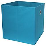 Faltbox Cubi - Petrol, MODERN, Holzwerkstoff/Textil (32/32/32cm)