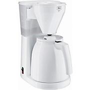 Filterkaffeemaschine Melitta, Weiß - Weiß, KONVENTIONELL, Glas/Kunststoff (18,8/28,5/36cm) - MELITTA