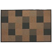Flachwebeteppich Toskana - Schwarz/Naturfarben, KONVENTIONELL, Textil (80/150cm)