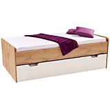 Funktionsbett Maxi Ii - bijela/boje hrasta, Konvencionalno, drvni materijal (207/58/95cm)