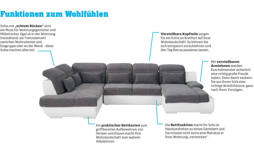 Sofas Mit Funktionen Zum Wohlfhlen Bei Mbelix Online Bestellen
