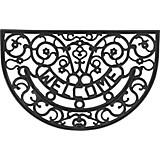 Fußmatte Arnold - Schwarz, KONVENTIONELL, Kunststoff (40/60cm) - HOMEZONE