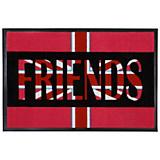 Fußmatte Flagge - Rot, KONVENTIONELL, Kunststoff (50/75cm)