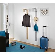 Garderobenpaneel Senex  *ph* - Grau, MODERN, Holz (10/170/33cm)