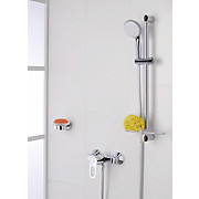 Grohe Duscharmatur Start Loop 23354000 - Chromfarben, MODERN, Metall (15cm) - GROHE