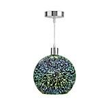 Hängeleuchte Dorian - Chromfarben, MODERN, Glas/Metall (25/120cm) - LUCA BESSONI