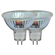 Halogen-Leuchtmittel 260 lm, Gu5,3, C, 2 Stück - Klar, KONVENTIONELL (5/4,8cm)