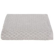 Handtuch Elena - Silberfarben, MODERN, Textil (50/100cm) - LUCA BESSONI