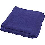 Handtuch Lilly - Blau, KONVENTIONELL, Textil (50/100cm)