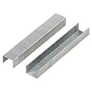 Heftklammern 1000 Stück - Silberfarben, KONVENTIONELL, Metall (0.8cm)