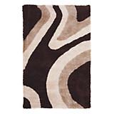 Hochflorteppich Abina 120x170 cm - Braun, KONVENTIONELL, Textil (120/170cm) - JAMES WOOD