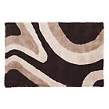 Hochflorteppich Abina 160x230 cm - Braun, KONVENTIONELL, Textil (160/230cm) - JAMES WOOD